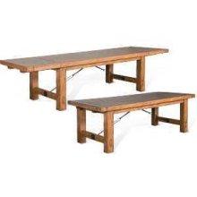 Sierra Extension Table w/ Turnbuckle