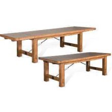 Sierra Extension Table w/ Turnbuckle