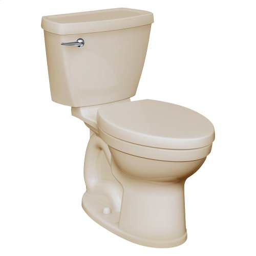 Champion 4 Right Height Round Front Toilet - 1.28 GPF - Bone