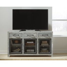 60 Inch Console - Seasalt Finish