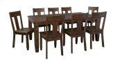 Trudell - Dark Brown 5 Piece Dining Room Set