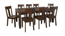 Trudell - Dark Brown 5 Piece Dining Room Set