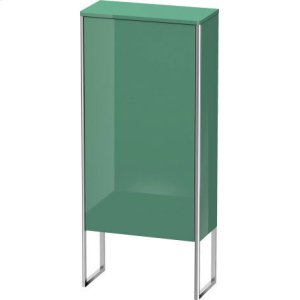 Semi-tall Cabinet Floorstanding, Jade High Gloss Lacquer