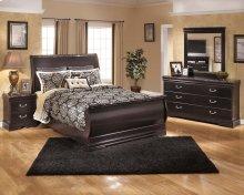 Esmarelda - Dark Merlot 5 Piece Bedroom Set