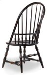 Dining Room Sanctuary Windsor Side Chair-Ebony