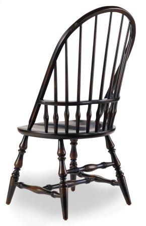 Dining Room Sanctuary Windsor Side Chair-Ebony