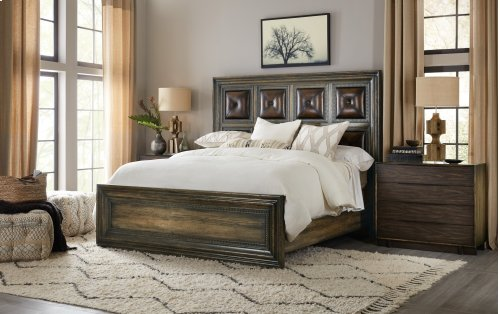 Bedroom Crafted Queen Panel Bed