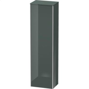 Tall Cabinet, Dolomiti Gray High Gloss Lacquer