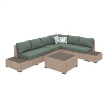 Silent Brook - Beige 3 Piece Patio Set