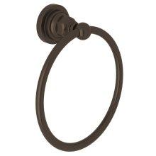 Tuscan Brass San Giovanni Towel Ring