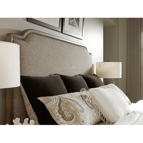 Stone Harbour Upholstered Bed Queen