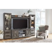 Wynnlow - Gray 4 Piece Entertainment Set Product Image