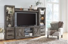 Wynnlow - Gray 4 Piece Entertainment Set