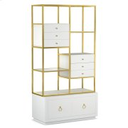 Living Room Swan Room Divider w/ File Storage Product Image