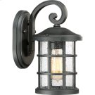 Crusade Outdoor Lantern in Earth Black Product Image