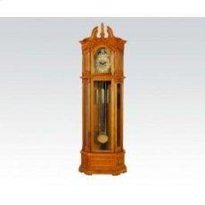 Oak Grandfather Clock @n Product Image