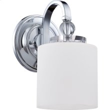 Downtown Wall Sconce in Polished Chrome