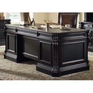 Hooker FurnitureHome Office Telluride 76'' Executive Desk w/Wood Panels