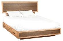 DUET Addison King Adjustable Storage Bed