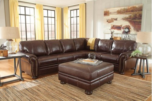 Banner - Coffee 3 Piece Sectional