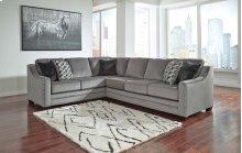 Bicknell Charcoal Left Sofa w/ Corner Wedge, Right Sofa