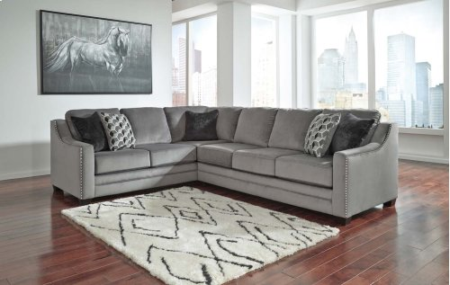 Bicknell - Charcoal 2 Piece Sectional