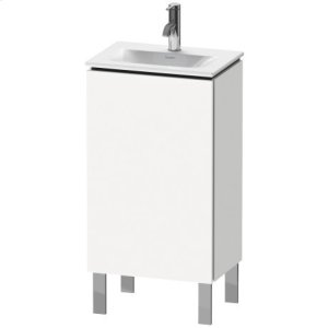 Vanity Unit Floorstanding, White Matt