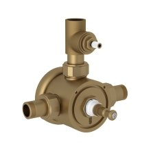 Perrin & Rowe Thermostatic Rough Valve With Volume Control