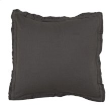 Harlow Charcoal 3Pc Euro Sham Set