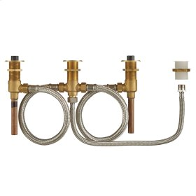 Flash Roman Tub Filler Universal Rough-in Valve with Hand Shower  American Standard - N/A