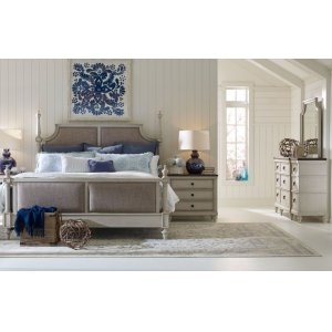 LEGACY CLASSIC FURNITUREBrookhaven Upholstered Bed, Queen 5/0