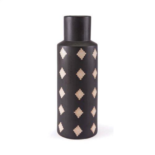 Pampa Bottle Lg Black & Beige