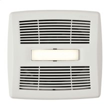 InVent Series Single-Speed Bathroom Exhaust Fan with LED Light 80 CFM 1.5 Sones, ENERGY STAR Certified