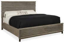 Bedroom Annex Queen Panel Bed w/ Storage Footboard