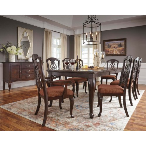 Gladdenville - Brown 5 Piece Dining Room Set