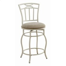Casual Cream Counter-height Chair