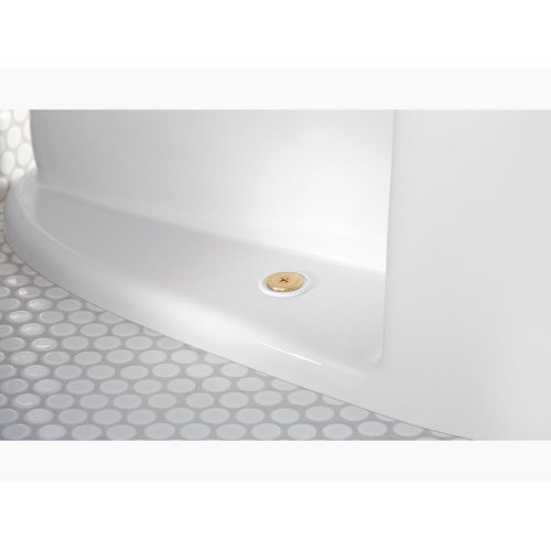 White Comfort Height One-piece Compact Elongated 1.28 Gpf Touchless Toilet With Aquapiston Flushing Technology