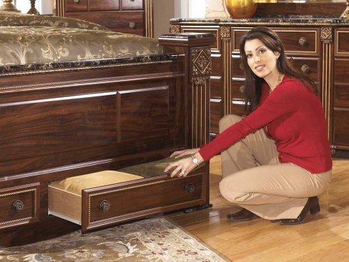 King Footboard Storage Box