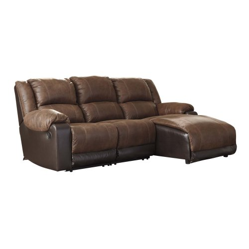 4 Pc Reclining Sectional