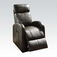 DARK GRAY POWER LIFT RECLINER