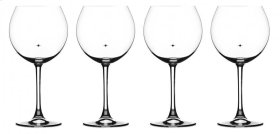 Burgundy Glasses (Set of 4)