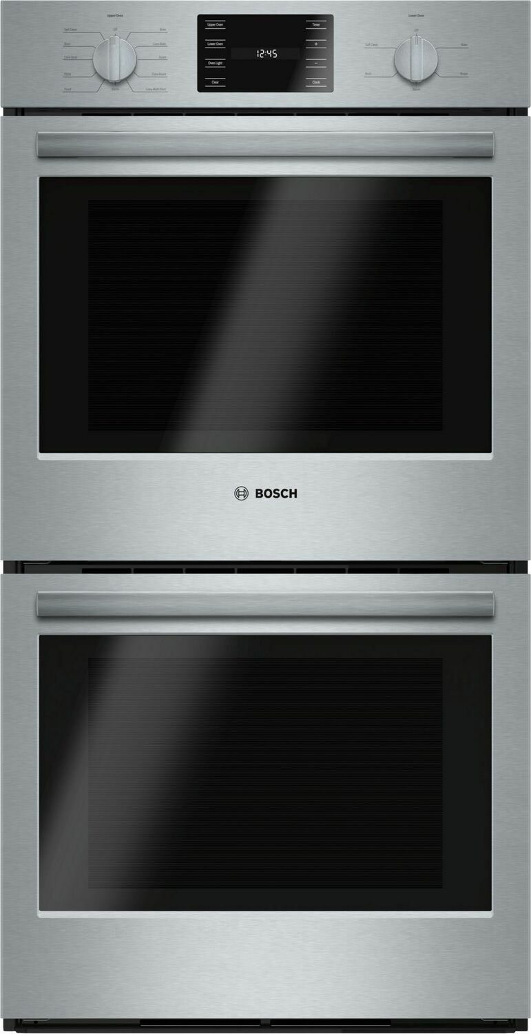 """Bosch500 Series, 27"""", Double Wall Oven, Ss, Eu Conv./thermal, Knob Control"""