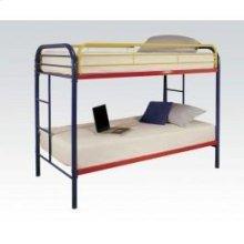 Rainbow Twin/twin Bunk Bed