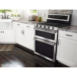Maytag 30-Inch Wide Double Oven Gas Range With True Convection - 6.0 Cu. Ft.