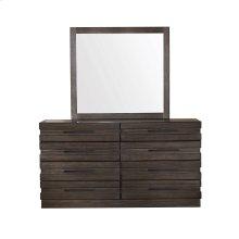 Stackhaus 8 Drawer Dresser in Dark Brown