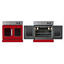 Residential Wall Oven, French Door Wall Oven , Red Color