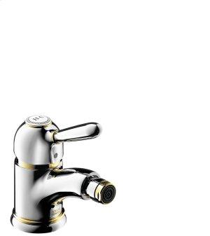 Polished Bronze Single lever bidet mixer with pop-up waste set Product Image