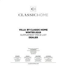 2019 Villa Supp Winter Pricelist - Dealer