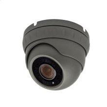 Auto focus Dome Camera Auto Focus 5X Zoom POE IP 5MP - Gray