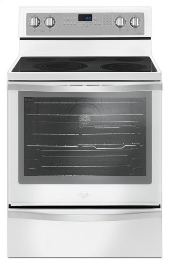 Whirlpool(R) 6.4 Cu. Ft. Freestanding Electric Range with True Convection